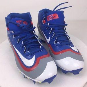 New Nike Huarache Molded Baseball Cleats Men's 9.5